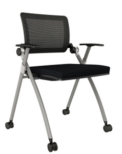 Stow Training Chair Quickship with arms and casters
