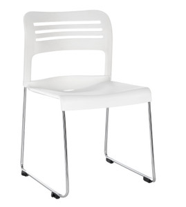 Flamingo Stack Chair white