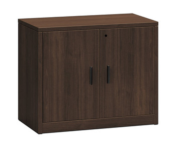 10500 Series Woodgrain Laminate Storage Cabinets in Mocha