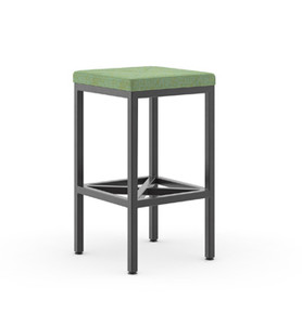 Kimball fiXt Stool with Optional Cushion
