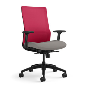 SitOnIt Novo Task Chair with Fire Mesh and Lumbar Accent