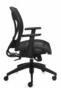 OTG 2821 Mesh Seat with Back Synchro-Tilt, side