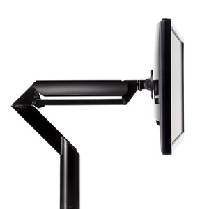 Knoll Sapper XYZ Monitor Arm in Jet Black Finish