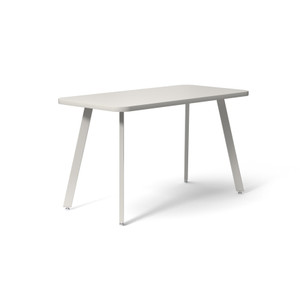 "Knoll Rockwell Unscripted® Easy Table Rectangular, Folkstone Grey 24"" x 48"""