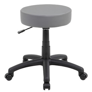 DOT Vinyl Stool, Grey