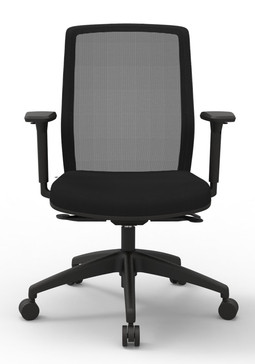 Atto Weight Sensing Executive Task, Black seat Onyx Mesh back