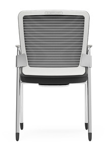 Eon Guest Arm Chair, mesh back with passive lumbar support