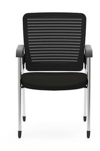 Eon Guest Arm Chair, black