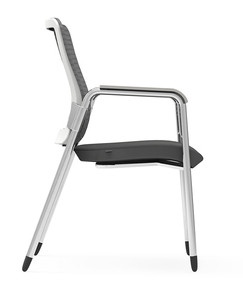 Eon Guest Arm Chair, side view