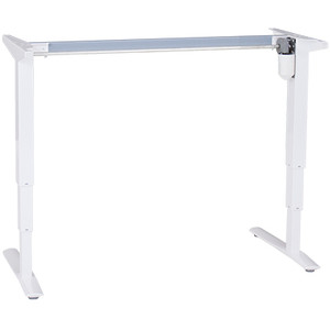 501-43 Electric Sit-Stand Base ONLY, white