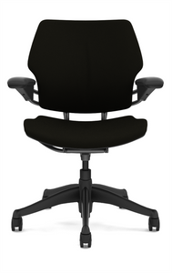 Humanscale Freedom Quick Ship Task Chair in Black Wave W101