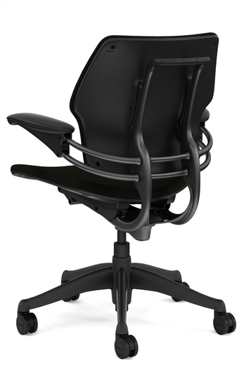 Humanscale Freedom Quick Ship Task Chair Rear profile