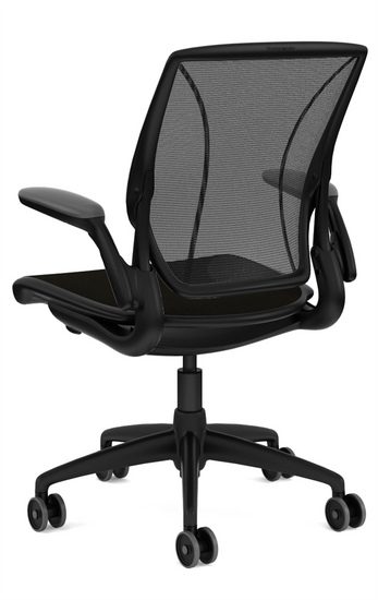 Humanscale Diffrient Quick Ship World Chair Rear profile