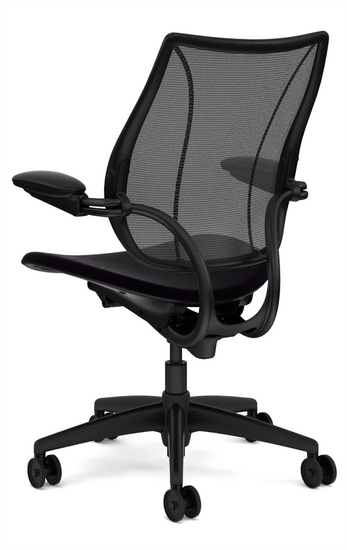 Humanscale Liberty Quick Ship Task Chair Rear profile