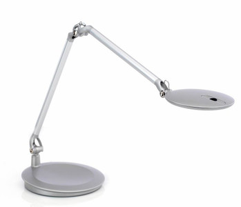 Humanscale Element Disc Task Light with Silver Finish
