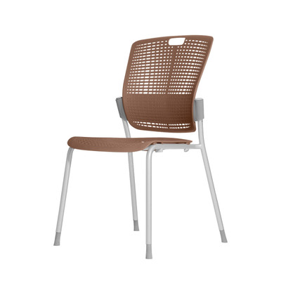 Humanscale Cinto Ergonomic Stack Chair in Taupe (17)