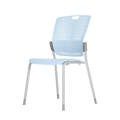 Humanscale Cinto Ergonomic Stack Chair in Light Blue (52)