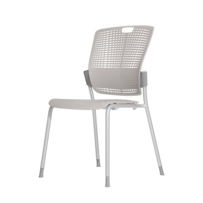 Humanscale Cinto Ergonomic Stack Chair in Light Gray (18)