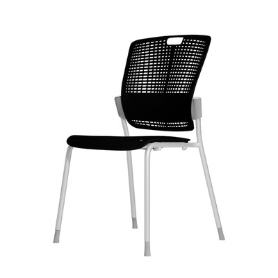 Humanscale Cinto Ergonomic Stack Chair in Black (10)