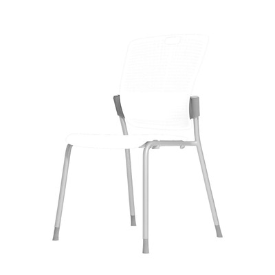 Humanscale Cinto Ergonomic Stack Chair in White (01)