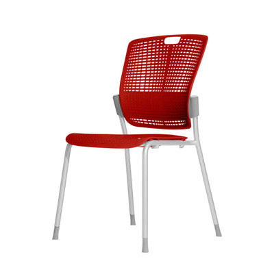 Humanscale Cinto Ergonomic Stack Chair in Red (72)