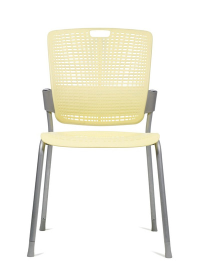 Humanscale Cinto Ergonomic Stack Chair in Yellow (33)