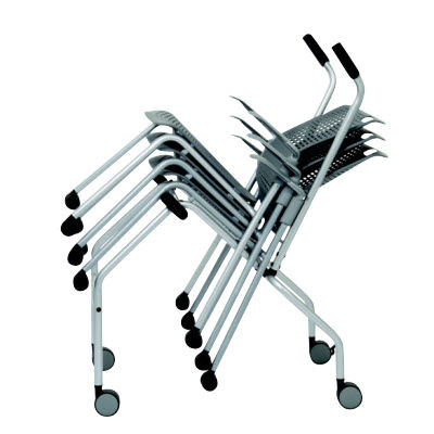 Humanscale Cinto Chair Dolly: Stores up to 15 Humanscale Cinto Stack Chairs of any configuration