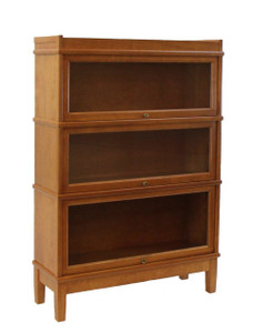 Hale Receding Door Book Section Shelving Unit