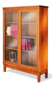 Hale 754 Library Case, 3 adjustable shelves