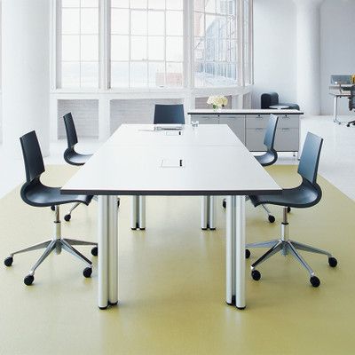 KnollStudio Gigi Armless Swivel is a great streamlined conference chair