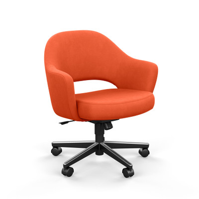 KnollStudio Saarinen Executive Arm Chair with Swivel Base