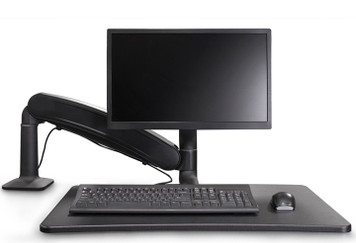 Maestro Sit-Stand by BodyBilt ™, black single monitor