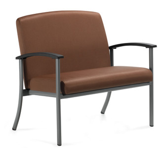 GlobalCare Strand Bariatric Armchair with Tungsten frame finish