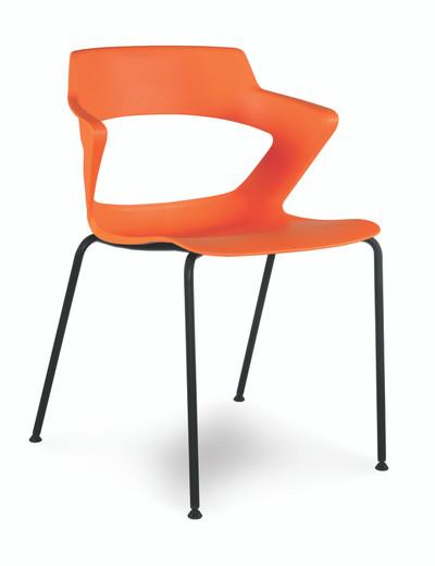 Zee Stackable Guest, Orange