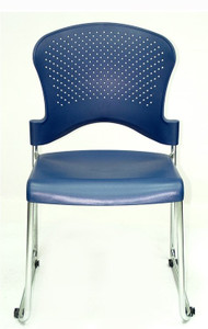 EuroTech Aire S3000 Stack Chair in navy