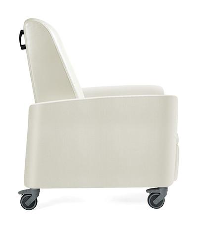 Verity Patient Recliner with push handles for patient transport