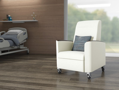 Verity Patient Recliner is also perfect for the family's overnight by the bedside