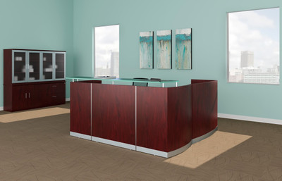 Mayline Medina Reception Desk Approach