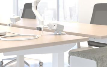 AMQ ECO desk top mount power unit
