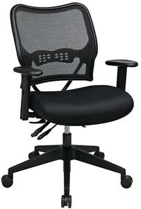 Deluxe AirGrid® Back Chair with Adjustable Arms