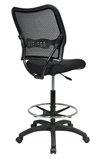 Deluxe AirGrid® Back Stool with Mesh Seat  back right view