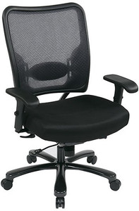 Big & Tall Dual Layer Air Grid® Back and Mesh Seat Chair