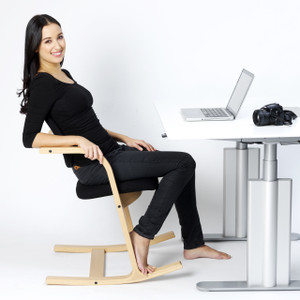 Varier Actulum Work Chair Gentle rocking pendulum design