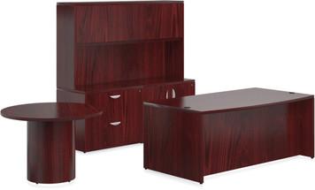 Ventnor Wood Veneer VF-D Desk Suite in Cordovan (CCH)