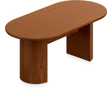 Ventnor Wood Veneer 6' Racetrack Conference Table in Toffee (TCH)