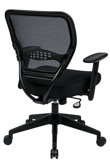 Black Mesh Air Grid® Back Task Chair back right view