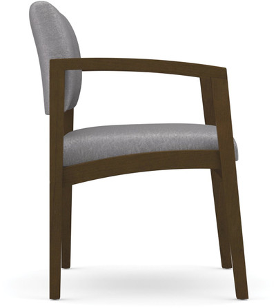 Lenox Open Arm Guest Chair side view