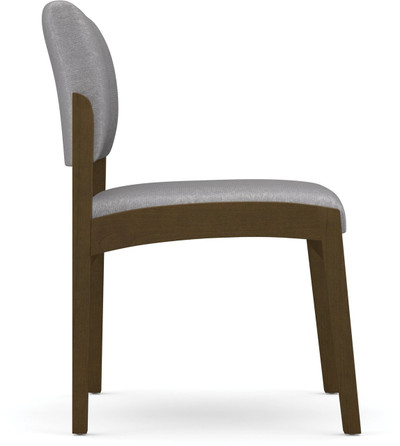 Lenox Armless Guest Chair side view