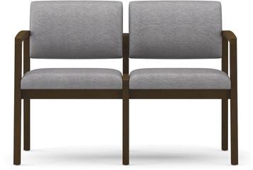 Lenox Open Arm 2-Seat Sofa with no center arm