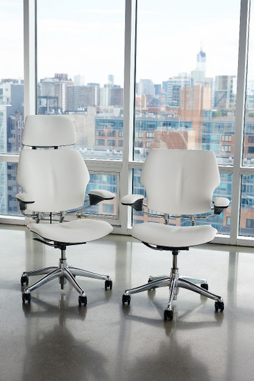 Humanscale Freedom Executive Task Chair with and without headrest